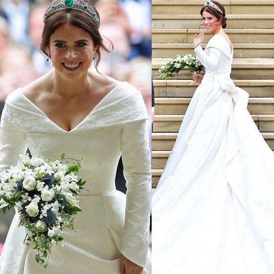 Księżniczka Eugenia Suknia ślubna Royal Wedding Eugenii Zdjęcia