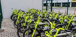Miejskie rowery elektryczne gotowe do jazdy. Wypożyczysz je na Ruczaju!