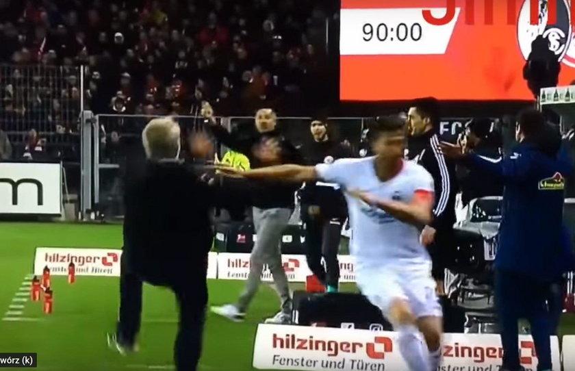 Awantura w trakcie niedzielnego meczu Freiburga z Eintrachtem