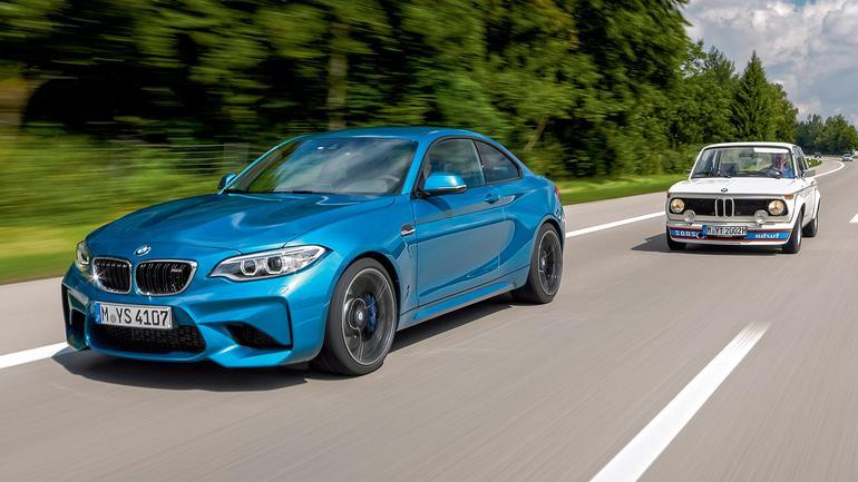 BMW M2 vs 2002 Turbo – geny turbodiabła