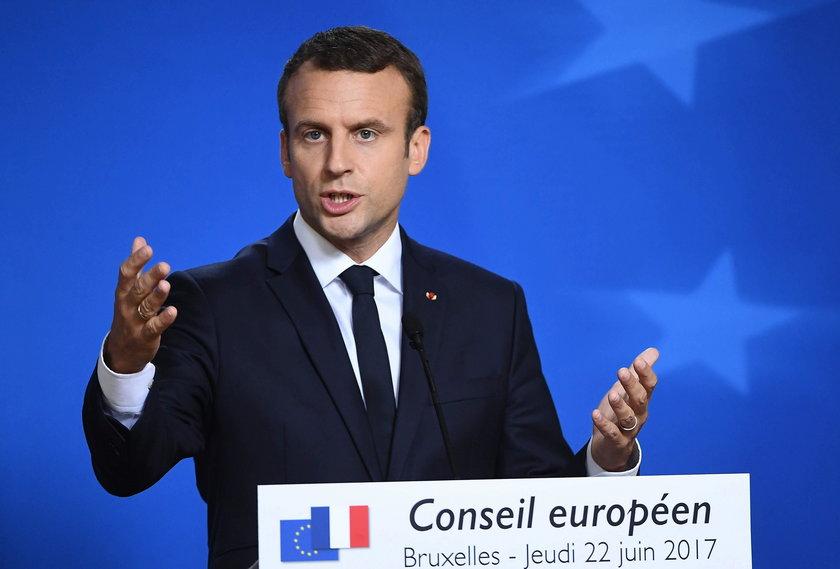 14 lipca prezydent Macron będzie odbierał defiladę wojskową w Paryżu.