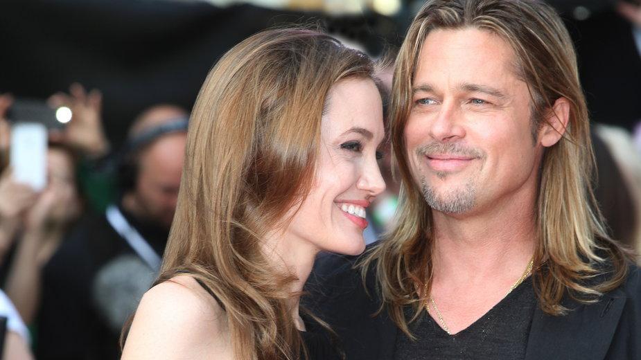Słynne pary gwiazd Hollywood, które poznały się na planie: Angelina Jolie i Brad Pitt