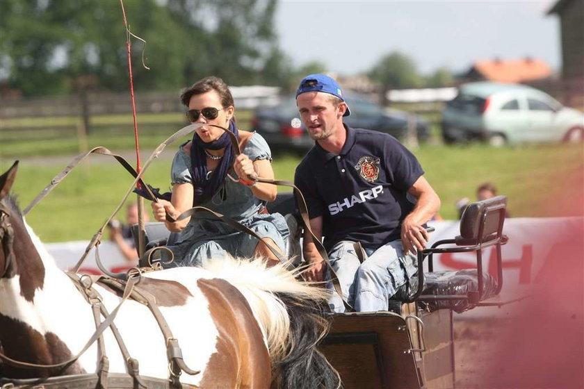 Szaleństwa Rusin na koniu! FOTO