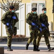 Novi Sad0198 Vojne patrole vojna policija vandredno stanje zbog korona virusa foto Nenad Mihajlovic
