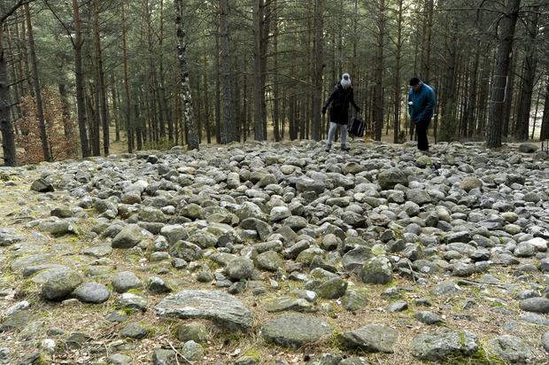 Węsiory, kamienne kręgi