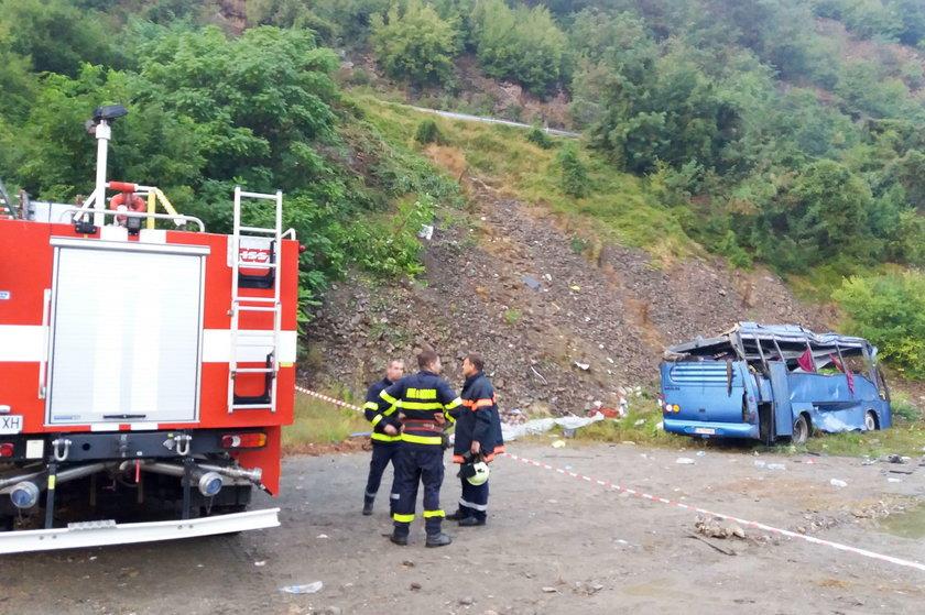 Tragiczny wypadek autokaru w Bułgarii. Nie żyje 16 osób, wielu rannych