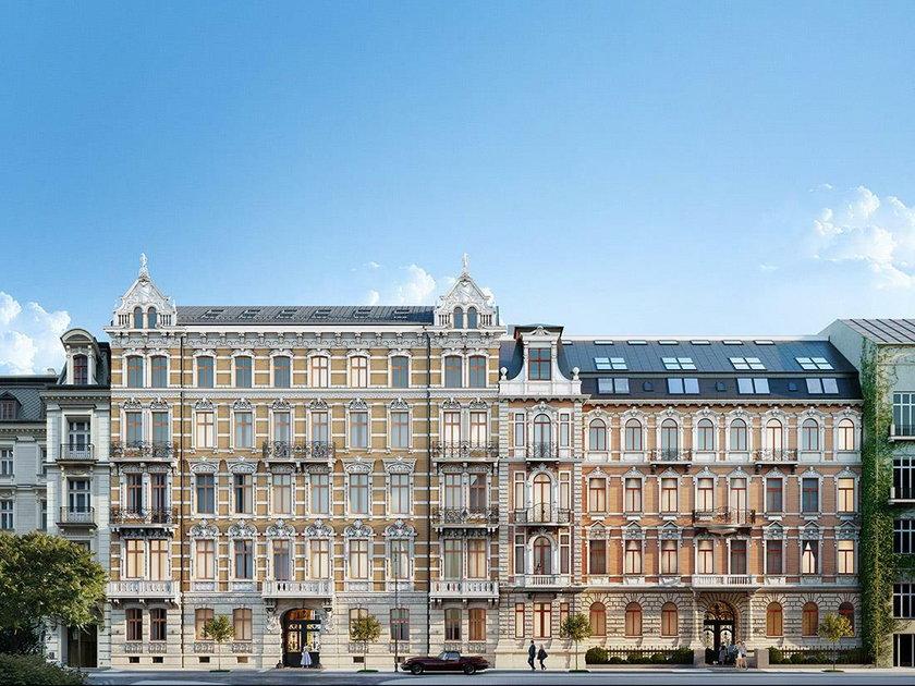 Zapłacił 17 mln zł za dwa apartamenty przy ul. Foksal 13/15 w Warszawie