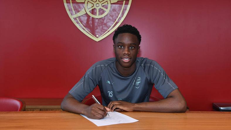 James Olayinka has decided to extend his stay at Arsenal [Arsenal]