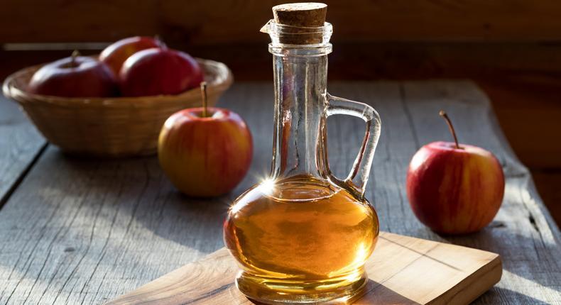 Apple Cider vinegar (Courtesy)