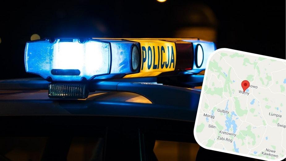 Tragedia  pod Miłakowem. W wypadku zginęła 18-latka, kierowca pijany