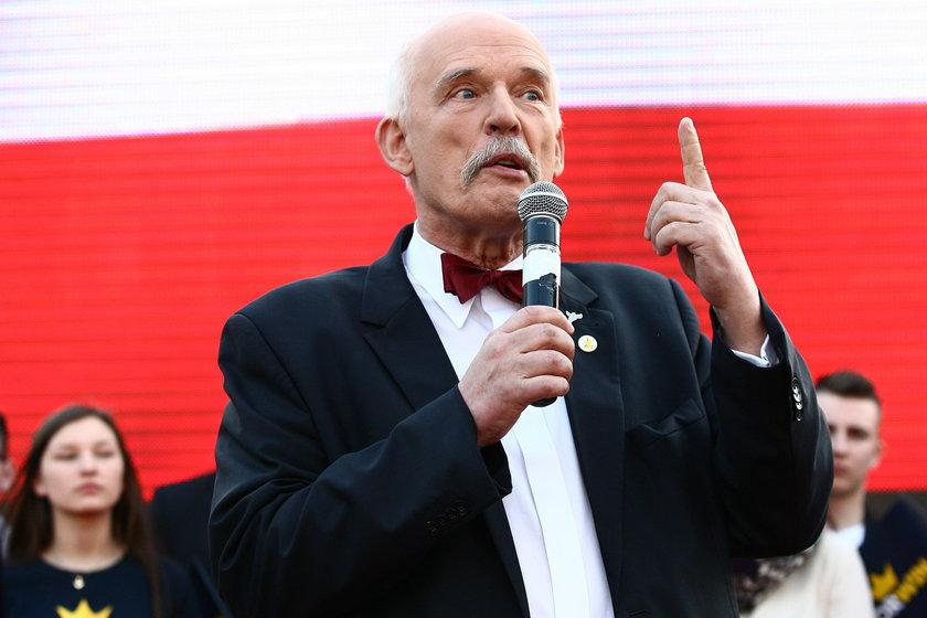 Janusz Korwin-Mikke zwariował!