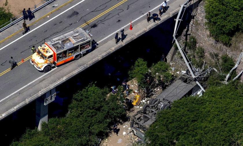 Wypadek autokaru w Argentynie. Zginęło 43 żandarmów