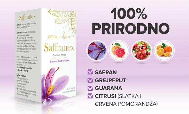 Saffranex 100% priordan proizvod za mršavljenje