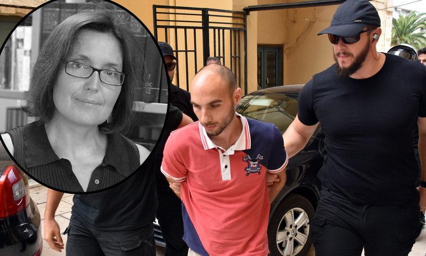 Zabójstwo uczonej na Krecie. 29-latek dwukrotnie ją przejechał, zgwałcił i udusił