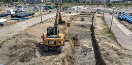 Trwa budowa nowej linii tramwajowej Nowa Warszawska
