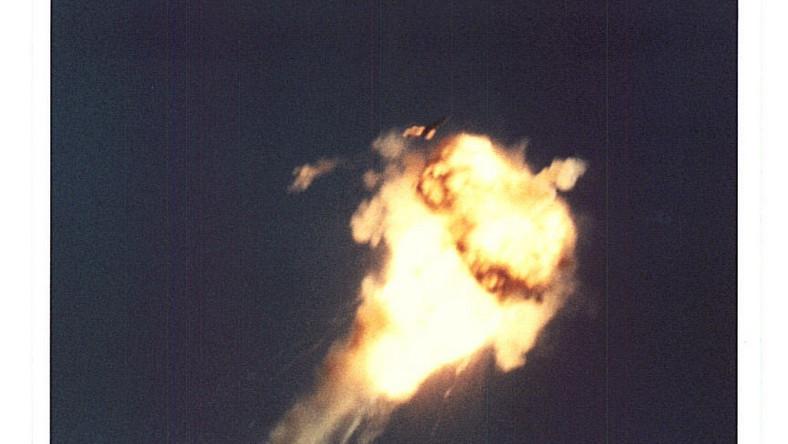 Jeśli wszystko poszło dobrze, kilkadziesiąt kilometrów nad ziemią następuje ekplozja
