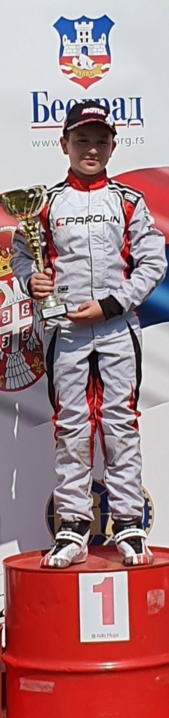 Nemanja Jovanović - karting