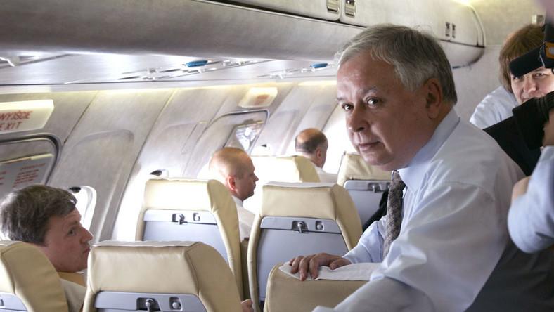 Lech Kaczyński nie ma samolotu na lot do Brukseli