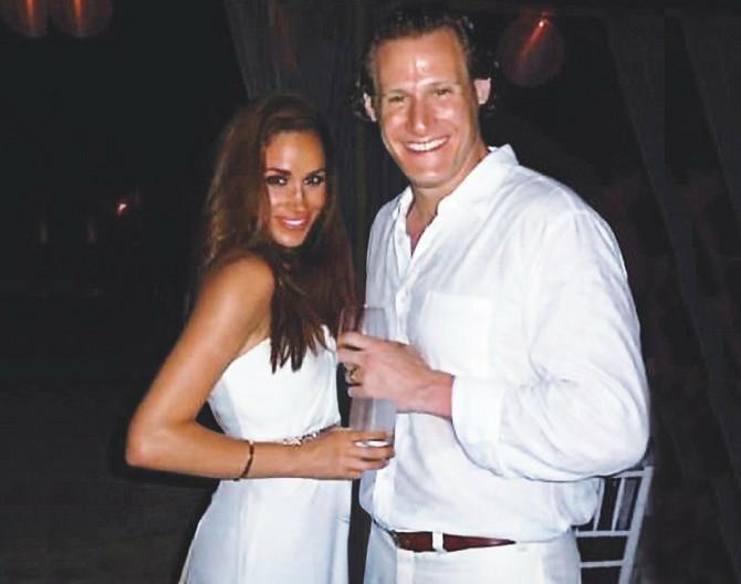 Megan Markl sa bivšim suprugom na njihovom venčanju na Jamajci