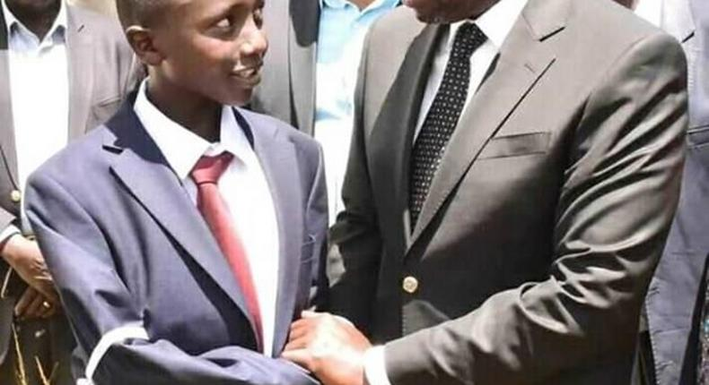 DP Ruto condoles with the family of Sgt Kenei during his burial on Saturday, 07 March 2020