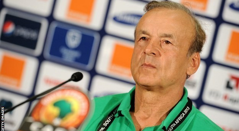 Super Eagles coach Gernot Rohr says NFF will not force him to choose NPFL players