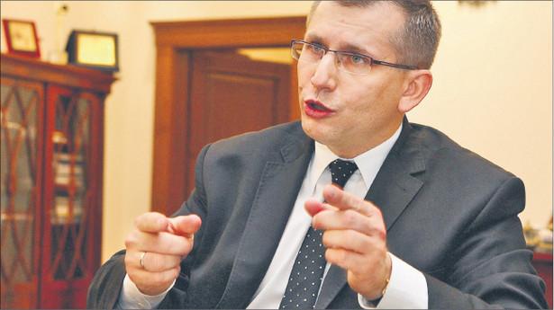 Krzysztof Kwiatkowski, minister sprawiedliwości Fot. Wojciech Górski