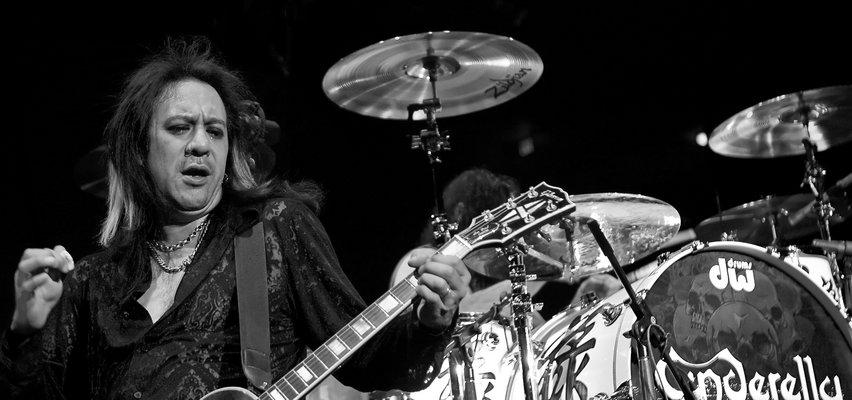"""Jeff LaBar nie żyje. Ciało gitarzysty """"Cinderelli"""" znalazła jego była żona!"""
