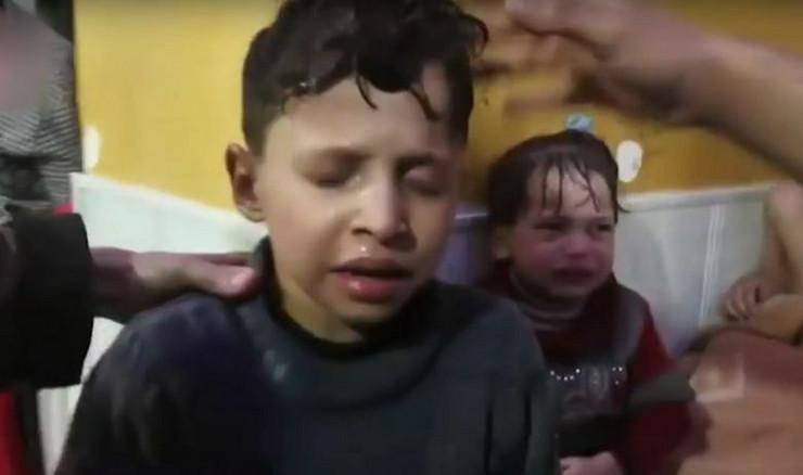 Hemijski napad Sirija
