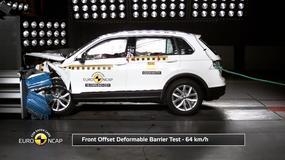 Crash test Volkswagena Tiguana