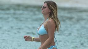 Zara Holland, była Miss Wielkiej Brytanii, w bikini