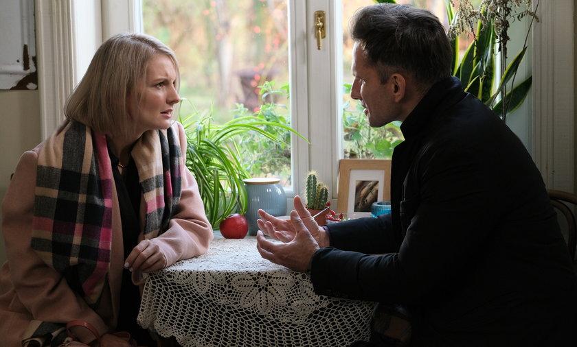 """""""M jak miłość"""". Wydawało się, ze Kamil i Weronika spotkają się w sądzie. Czyżby coś miało się zmienić?"""