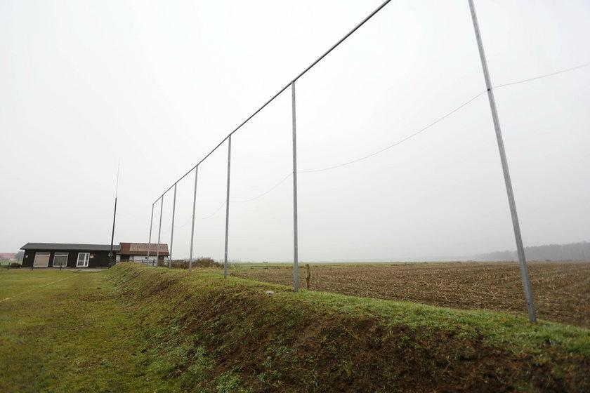 Kradzież bramek z boiska KS Sokół Łany Wielkie