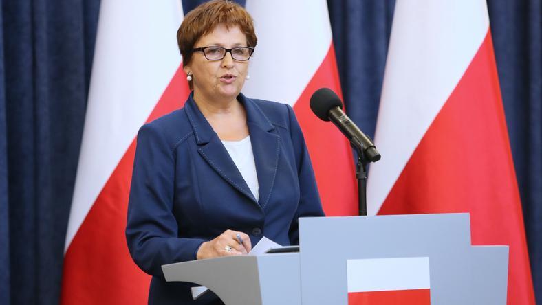Szefowa Kancelarii Prezydenta RP Halina Szymańska