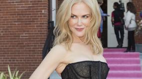 Nicole Kidman w prześwitującej kreacji