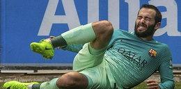 Poważna kontuzja zawodnika Barcy. Nieprzyjemny widok