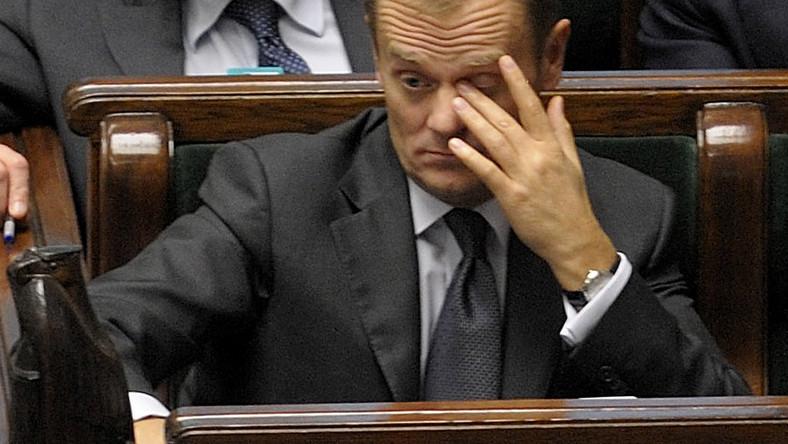 Tusk: Jestem premierem z przypadku