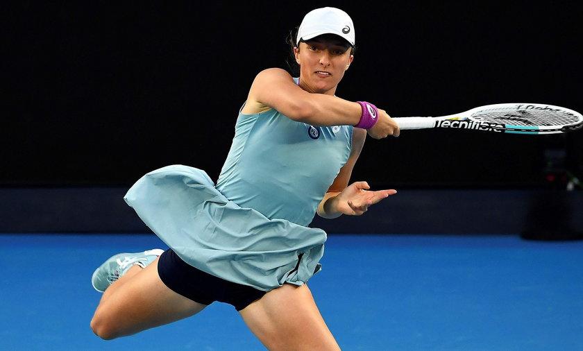 Iga Świątek odpadła z Australian Open