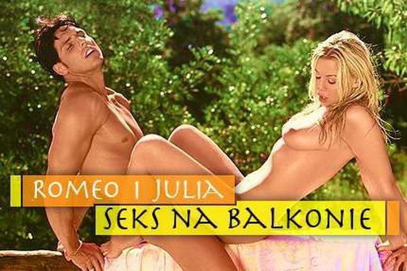 Romeo i Julia - seks na balkonie