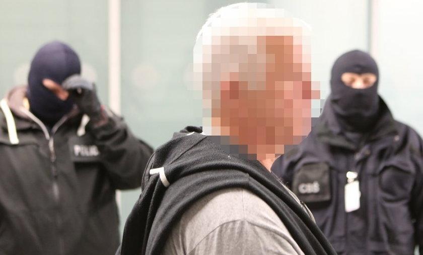 """Janusz G. """"Graf"""" w rękach policji"""