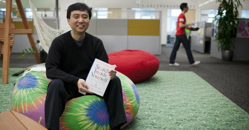 Chade-Meng Tan w biurze Google