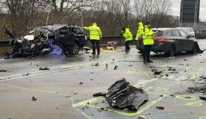 Koszmarny wypadek Polaków w Niemczech. Zginęły trzy osoby
