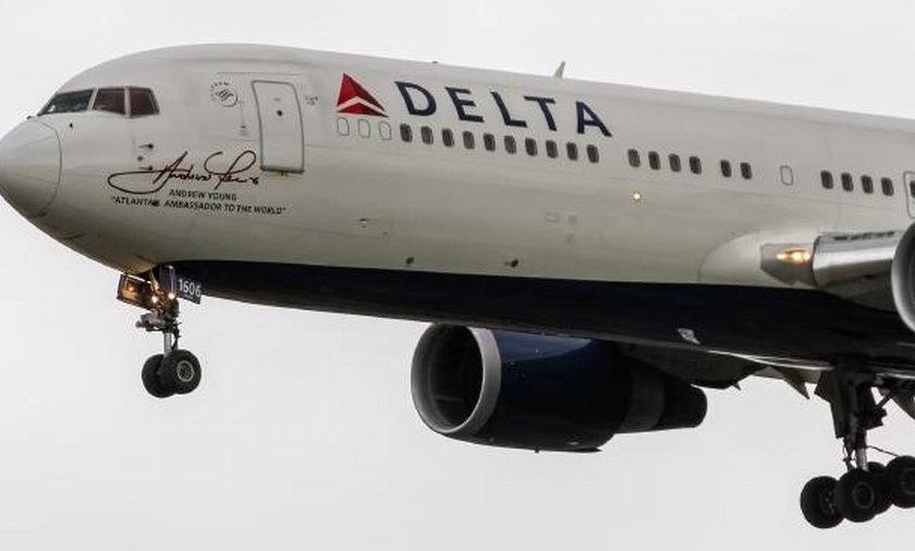 Samolot Delta Airlines
