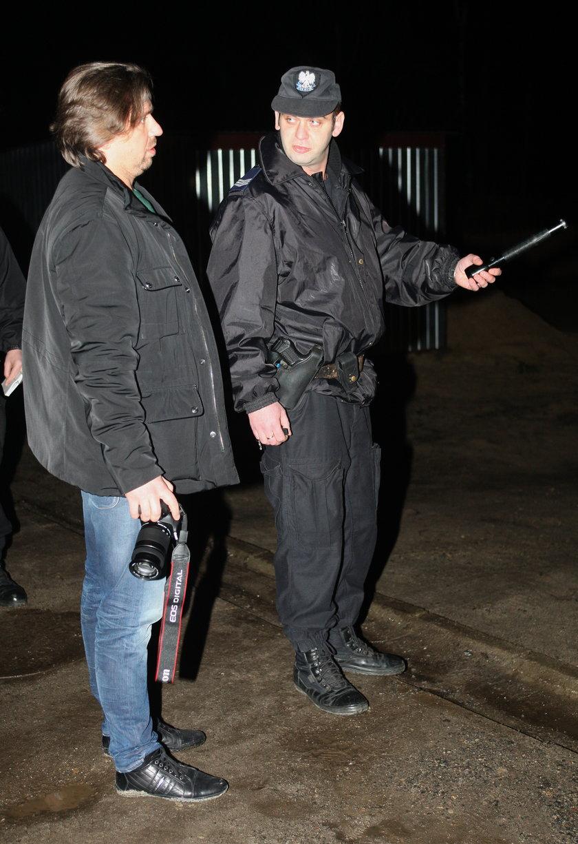 Agent Tomek udaje ochroniarza