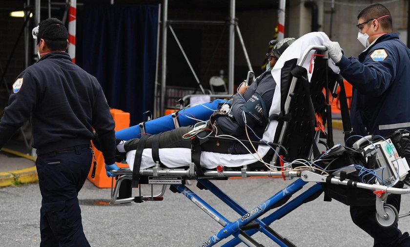 Coraz mniej zgonów i zakażeń w Nowym Jorku