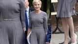 Agata Duda olśniewa w Warszawie. Ile kosztuje jej sukienka?