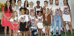 Dziennikarki TVN24 z dziećmi