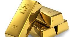 Uważaj! Sprzedają fałszywe sztabki złota!