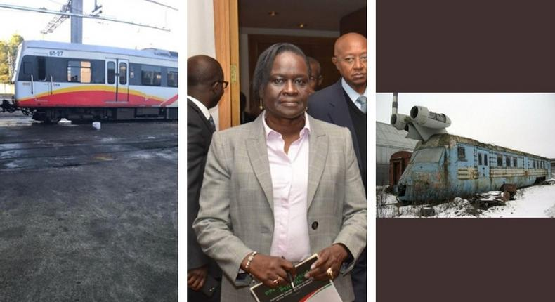 Anger after Transport PS Esther Koimett shares photos of the old trains Kenya has bought from Spain