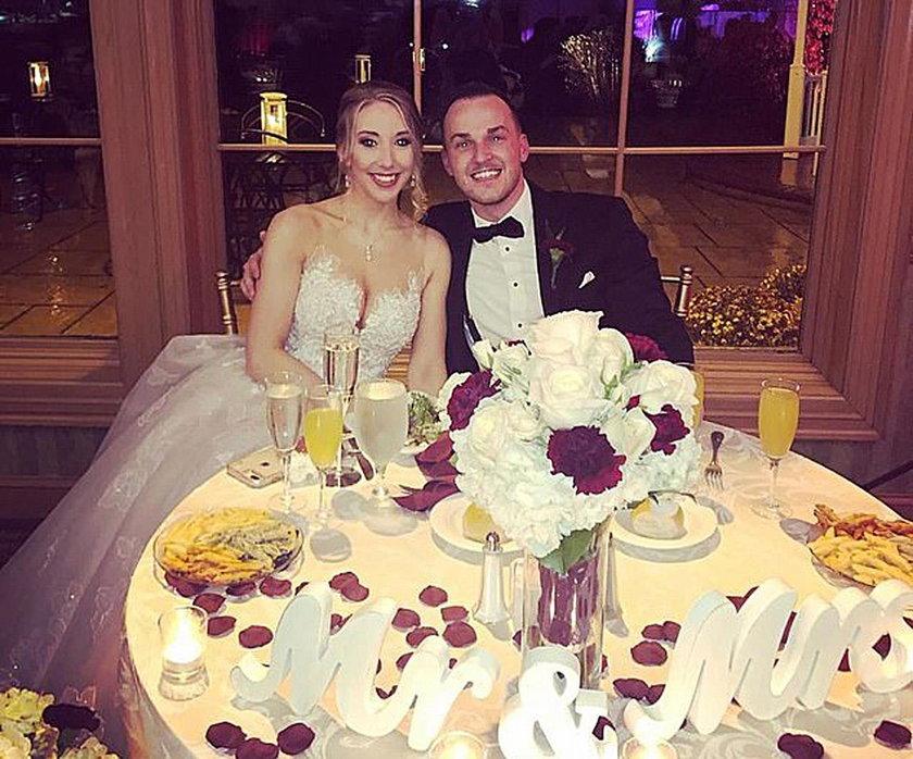 USA: Obmacywał kelnerkę na własnym weselu. Wyprowadziła go policja