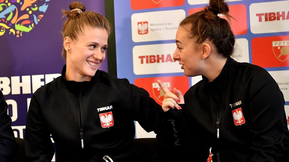 Natalia Partka (z lewej) i Natalia Bajor (po prawej) w Tokio powalczą o medale